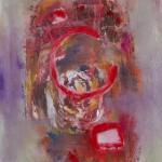 Quadrate Kreise Rot Rosa | Squares Circles Red Pink | ©Andrea Pandya